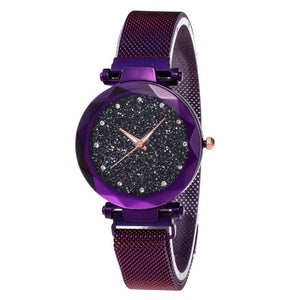 Fashion Watch Star Sky Watch Ladies Magnet Stone