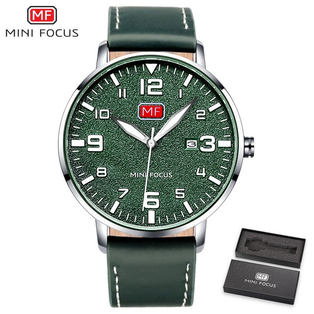 Mini Focus Luxury Brand Quartz Wristwatch Male