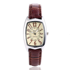 New fashion women watch Casual watch Square dial ladies retro