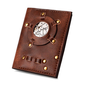 Steampunk Watch Core Wallet