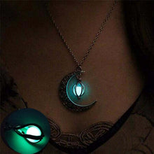 Load image into Gallery viewer, Steampunk Glow In The Dark Necklace