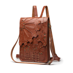 Steampunk Vintage Shoulder Backpack