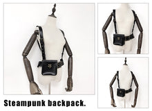 Load image into Gallery viewer, Steampunk Waist Day Pack