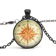 Load image into Gallery viewer, Steampunk Compass Pendant