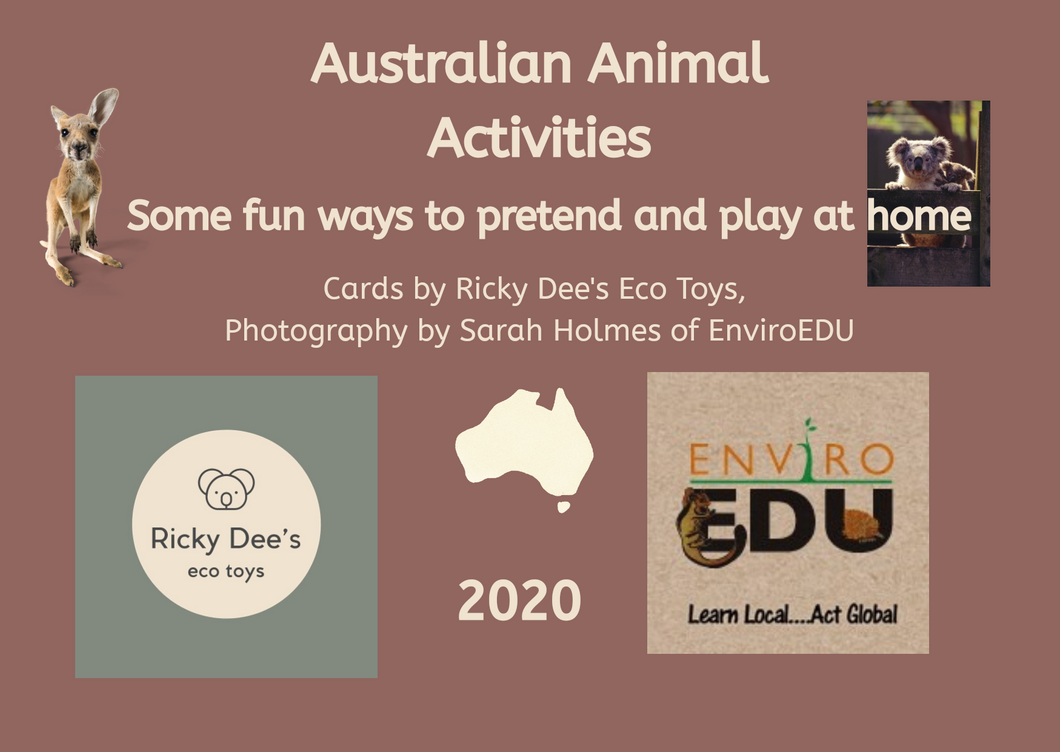 Download Australian animal activities cards