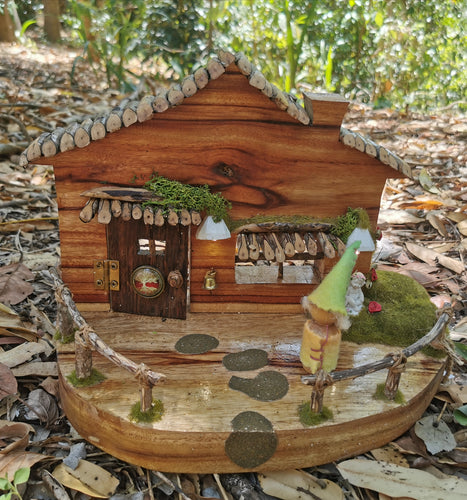 Fairy door house playscape