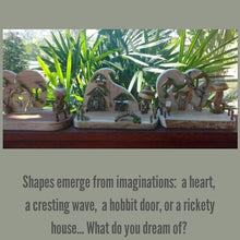 Load image into Gallery viewer, Heart shaped fairy door playscape