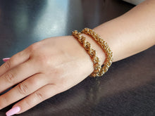 Load image into Gallery viewer, Gold Byzantine Chain Maille Bracelet