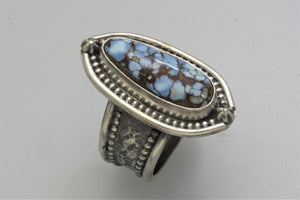 Kazakhstan Long Tear Drop Ring