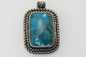 Ithaca Peak Small Rectangle Pendant