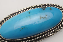 Load image into Gallery viewer, Kingman Turquoise Oval Pendant