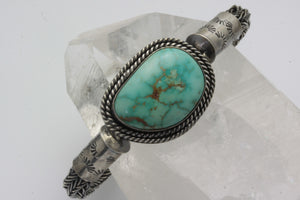 Turquoise Mountain Celtic/Viking Weaved Bracelet
