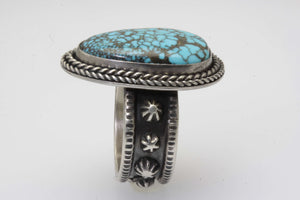 Maanshan Turquoise Tear Drop Ring