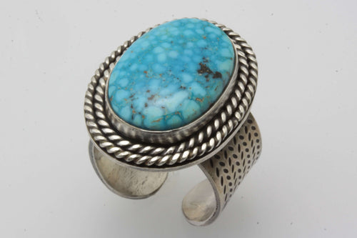 Birdseye Kingman Adjustable Ring