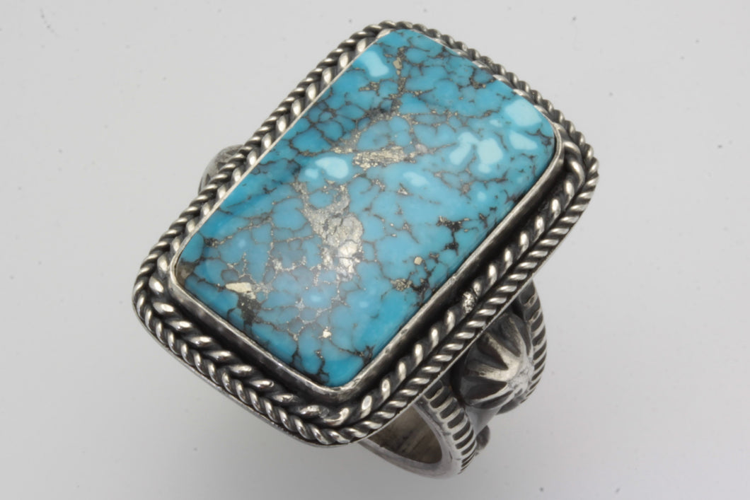 Ithaca Peak Rectangle Turquoise Ring