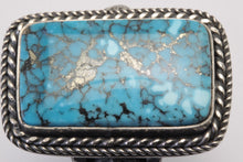 Load image into Gallery viewer, Ithaca Peak Rectangle Turquoise Ring