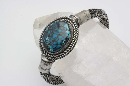 Cloud Mountain Turquoise Celtic/Viking Weaved Bracelet