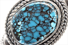 Load image into Gallery viewer, Cloud Mountain Turquoise Celtic/Viking Weaved Bracelet