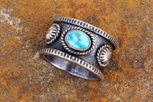 Load image into Gallery viewer, Turquoise Mountain Band Ring