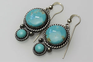 Kingman Round Earrings