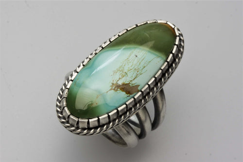 Royston Turquoise Oval Ring