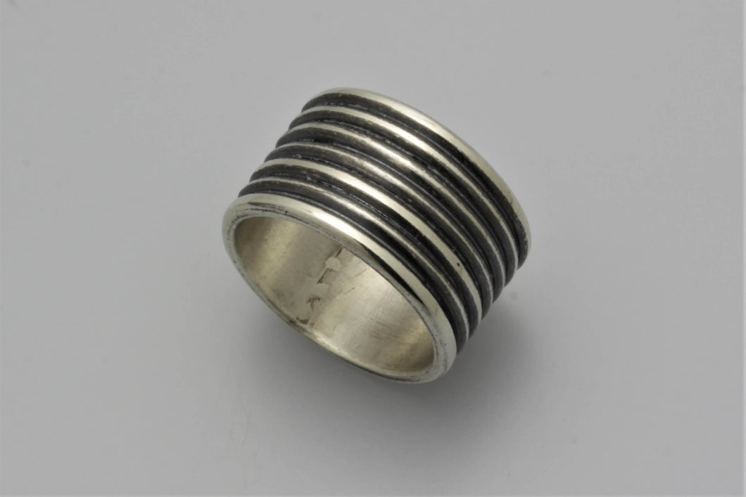 Sterling Silver Coil Band Ring
