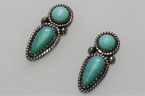 Campitos Two Stones Earrings