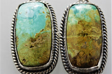 Load image into Gallery viewer, Turquoise Mountain Van Gogh Earrings