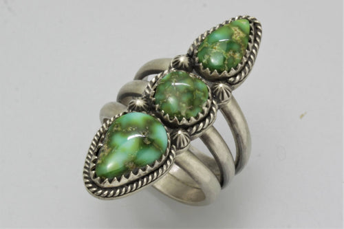 Sonoran Gold Three Stones Ring