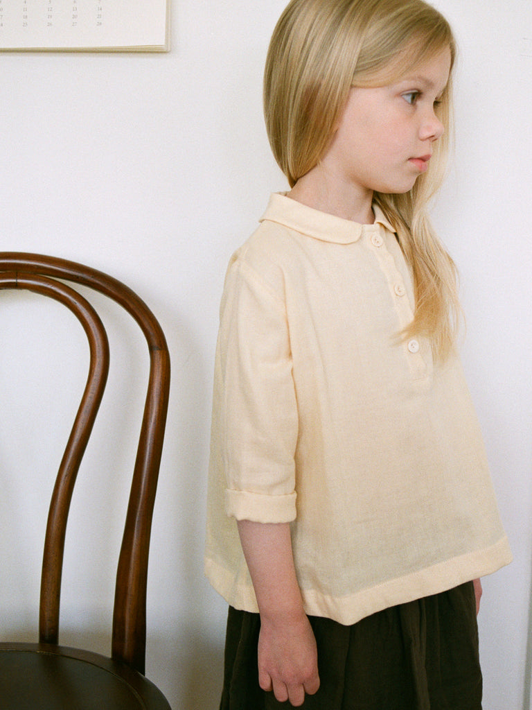Agnes Tunic Shirt Butter