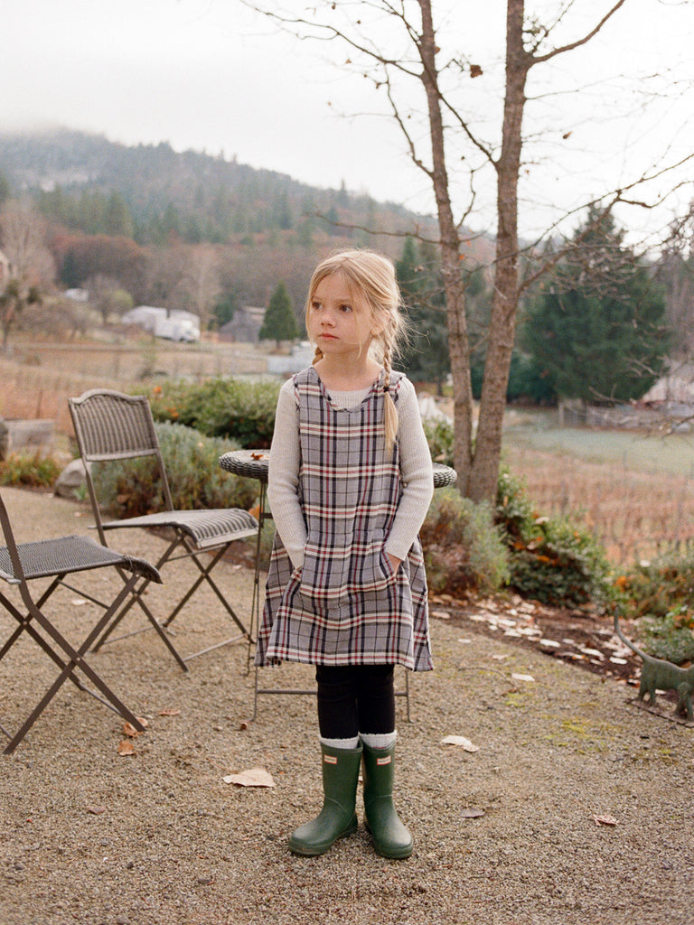 Smock Top Plaid