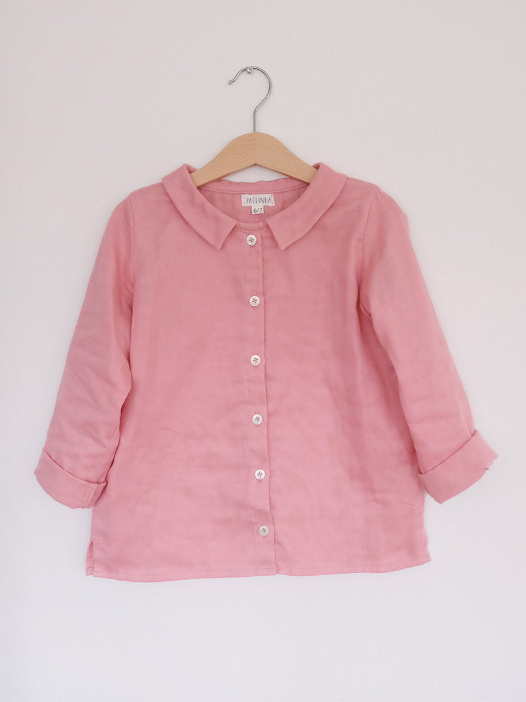 Ula Blouse Tea Rose