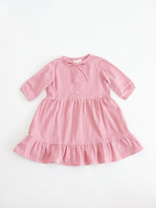 Alaiza Dress, Dusty Rose