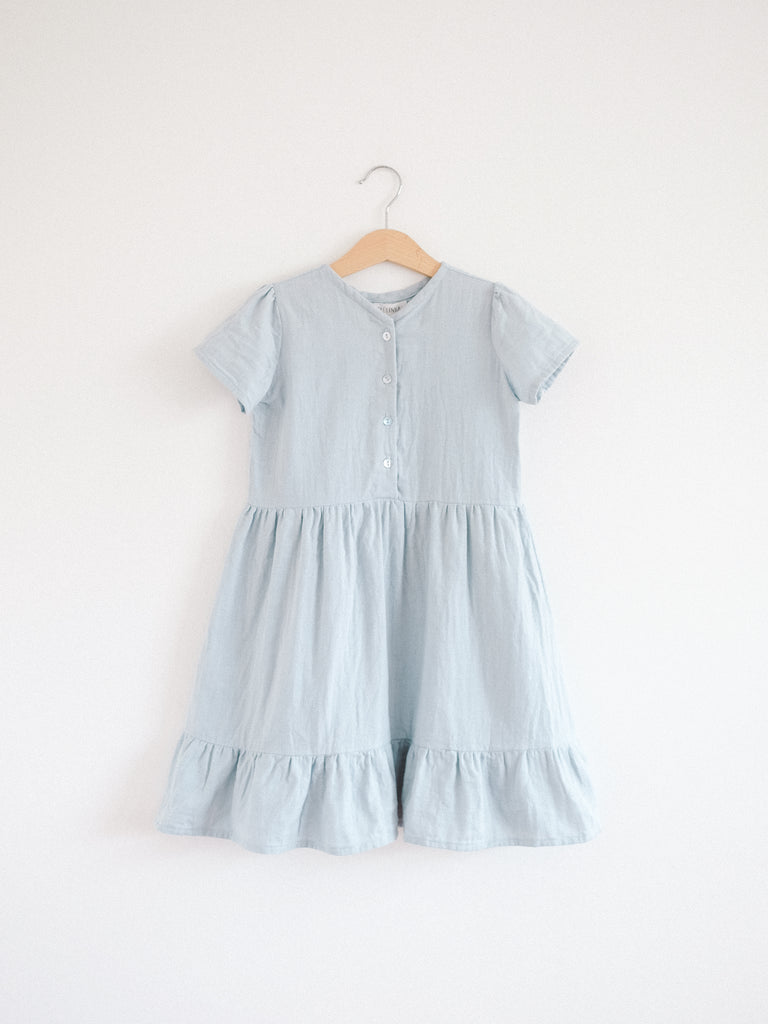 Summer Alaiza Dress Misty Blue