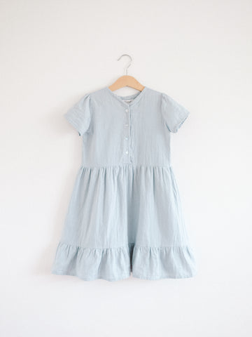 Summer Alaiza Dress, Misty Blue