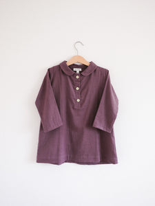 Agnes Tunic Dress, Vintage Plum