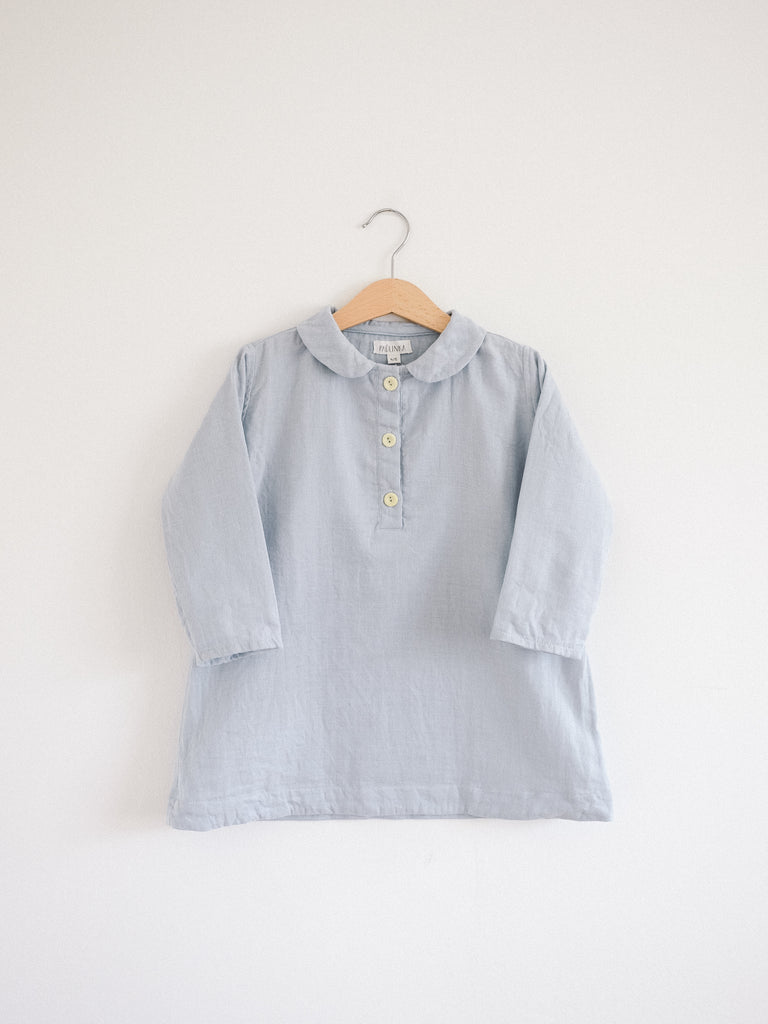 Agnes Tunic Dress Misty Blue