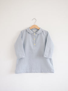Agnes Tunic Dress, Misty Blue