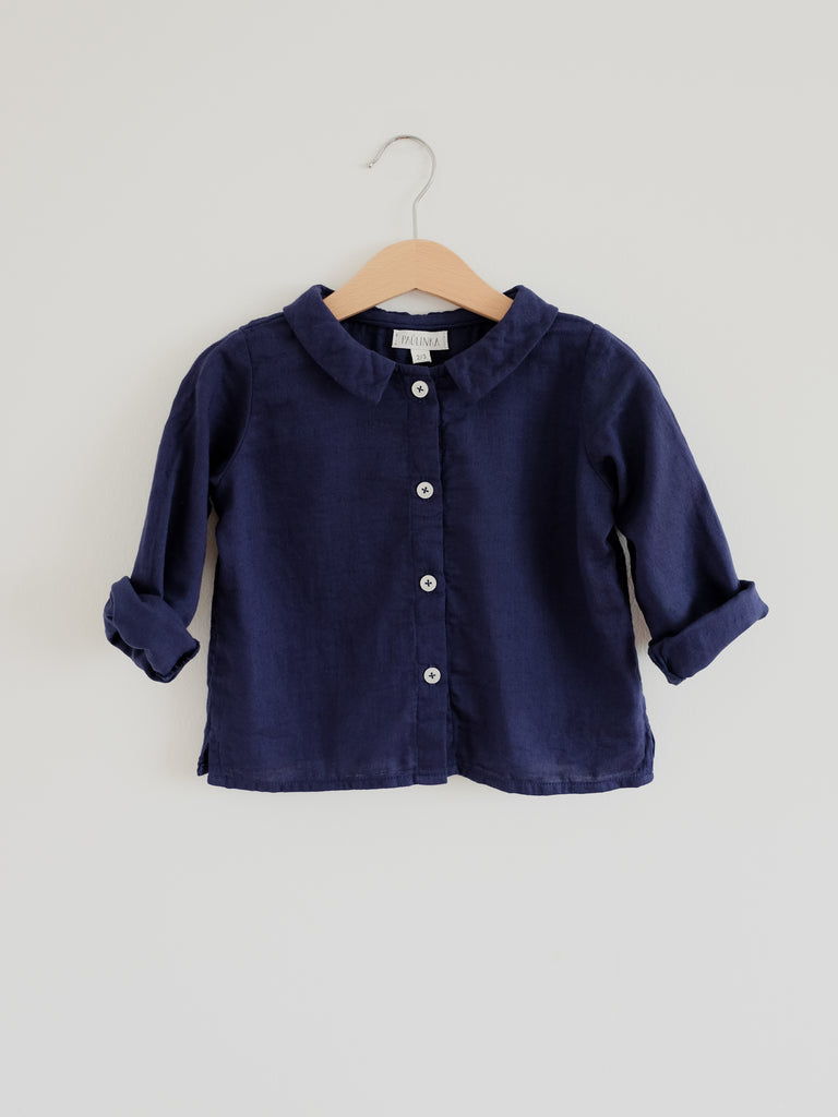 Ula Blouse Night Blue