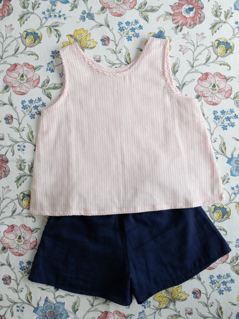 Ciri Top Pink Stripe