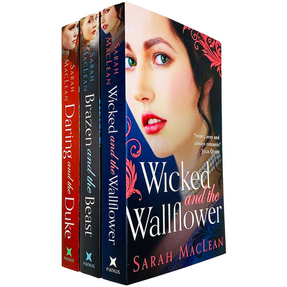 Bareknuckle Bastards Series 3 Books Adult Collection Paperback Set By - Sarah Maclean - St Stephens Books
