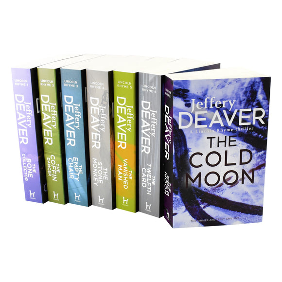 Lincoln Rhyme 7 Books Adult Collection Paperback Set By Jeffery Deaver - St Stephens Books