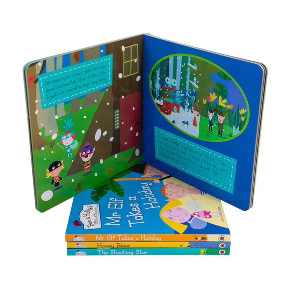 Ben & Hollys Little Kingdom 4 Books Collection Set NEW Pack - St Stephens Books