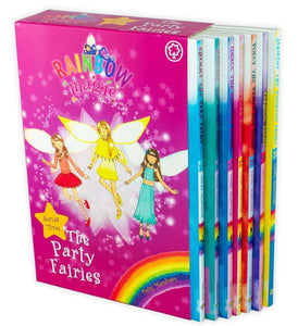 Rainbow Magic: The Party Fairies 7 Books Collection (Series 3) - St Stephens Books