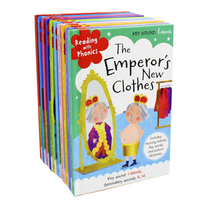 Reading With Phonics Key Sounds 10 Books Children Pack Hardback Set By Clare Fennell & Roise Greening - St Stephens Books