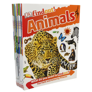 DK Findout! Series with Fun Facts and Amazing Pictures 10 Books Children Set Paperback - St Stephens Books