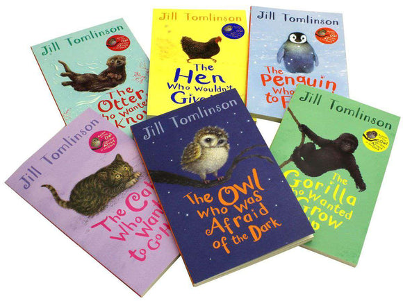 Jill Tomlinson 6 Books Children Collection Paperback Set - St Stephens Books