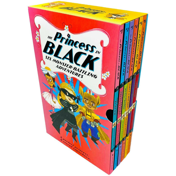 Princess In Black 6 Books Children Collection Paperback Set By - Shannon Hale & Dean Hale - St Stephens Books