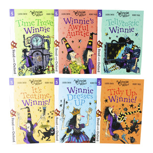 Read With Oxford Winnie & Wilbur Stage 5 Pack 6 Books Children Collection Paperback Set - St Stephens Books