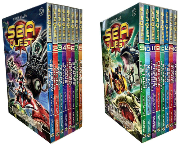 Sea Quest 16 Books Box Set Collection Series 1 - 4 - St Stephens Books